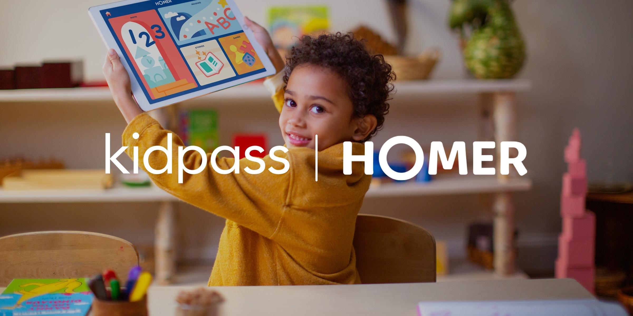 KidPass Joins Homer Family!